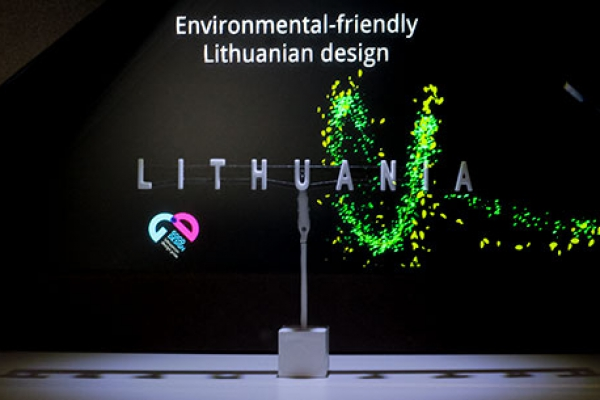 Lithuania Expo2017 | 3D Holographic projection