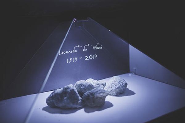Leonardo da Vinci Art Gallery dungeon | 3D Hologram